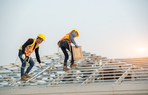 Reconstrução de telhados