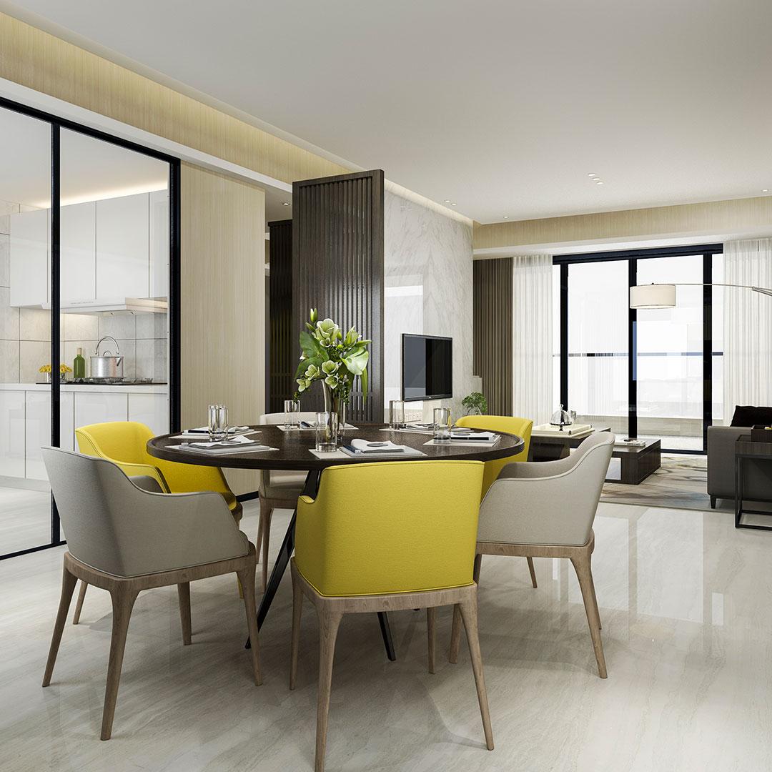 Criamos novos espaços na sua casa